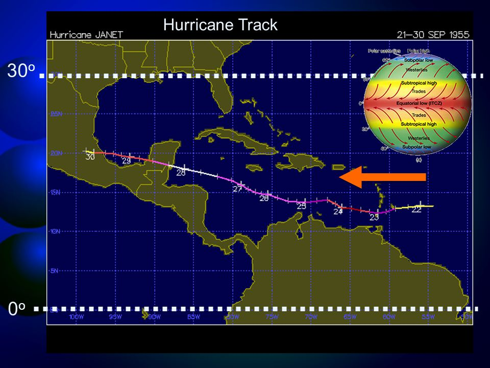 Hurricane Track 30 o 0o0o