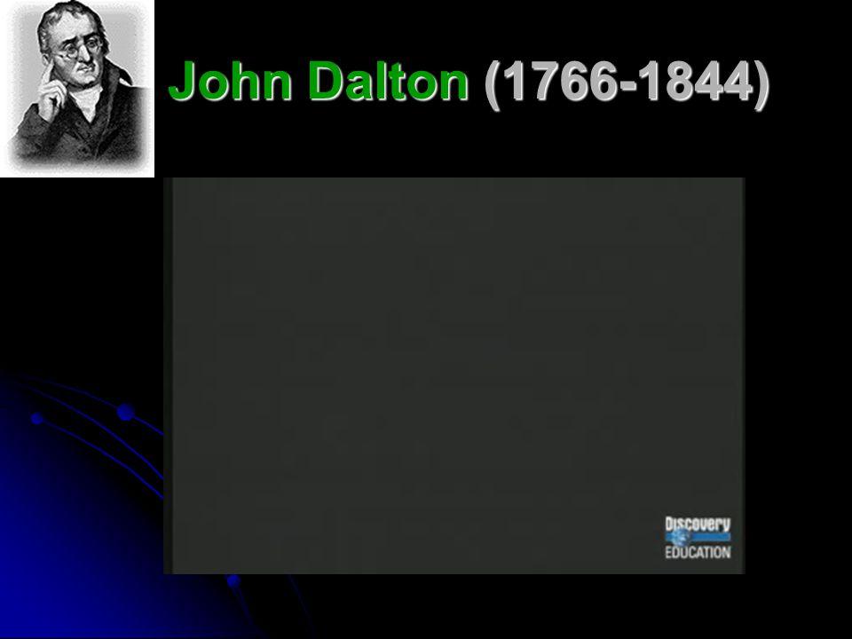 John Dalton (1766-1844)