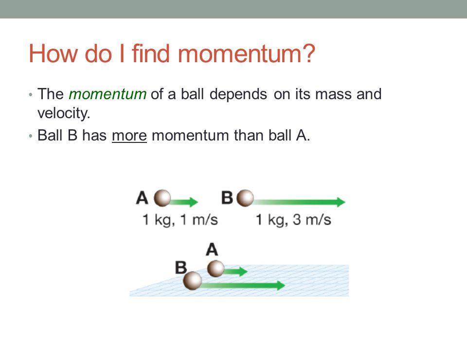 8 Momentum do the math! 8.5 Collisions