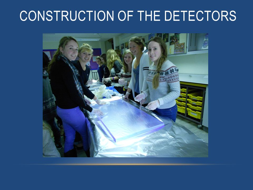 CONSTRUCTION OF THE DETECTORS