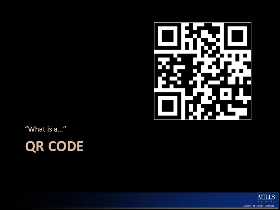 QR CODE What is a…