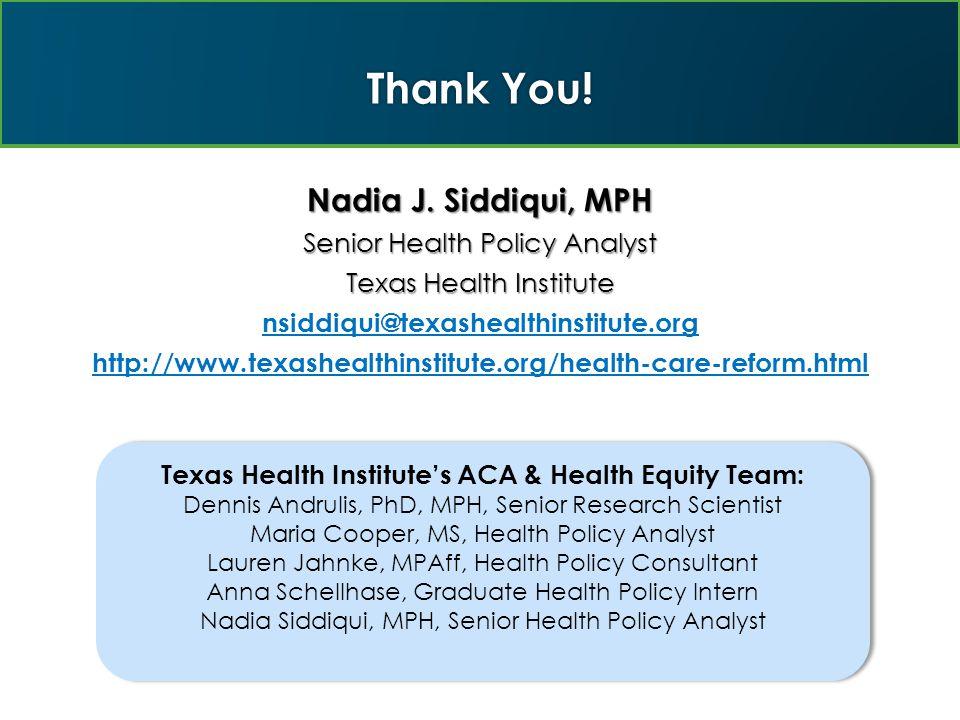 Thank You. Nadia J.