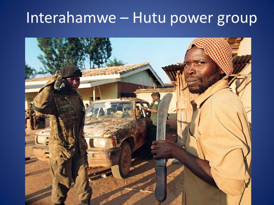 Interahamwe – Hutu power group
