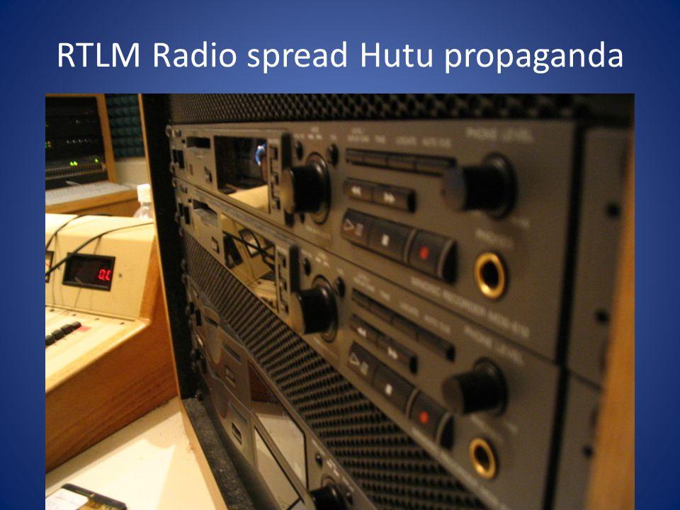 RTLM Radio spread Hutu propaganda