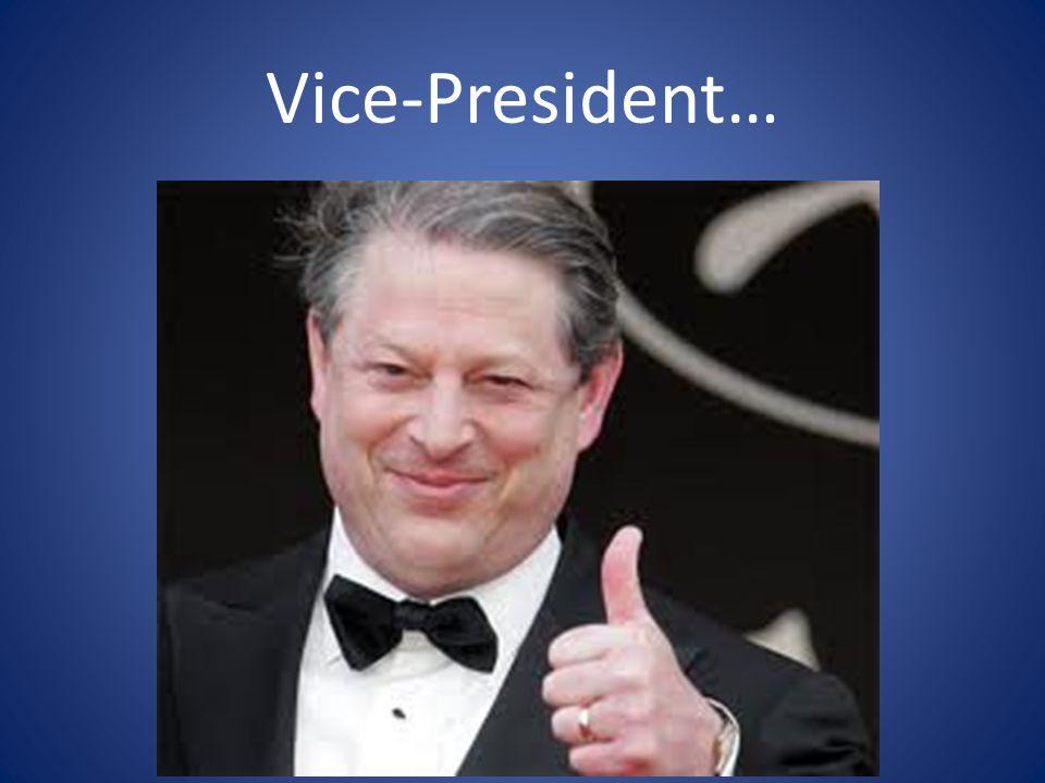 Vice-President…
