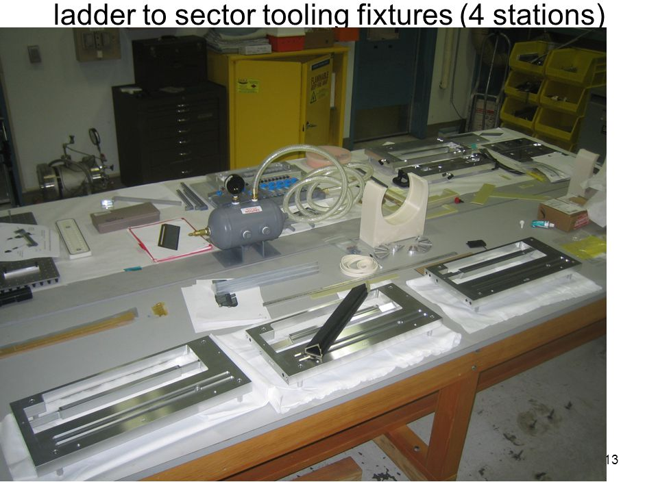 ladder to sector tooling fixtures (4 stations) 13