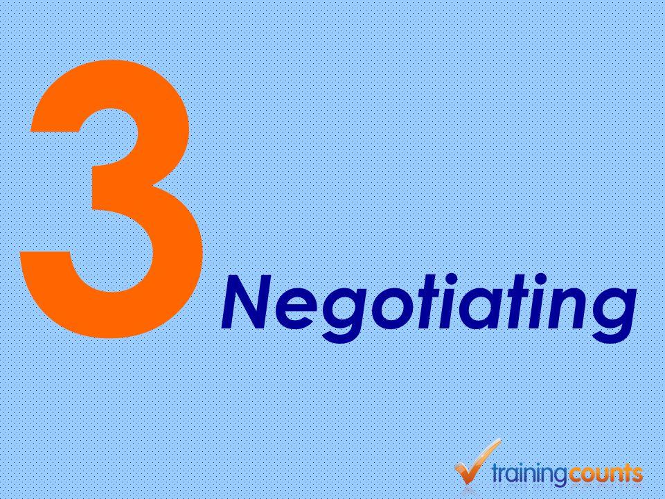 3 Negotiating