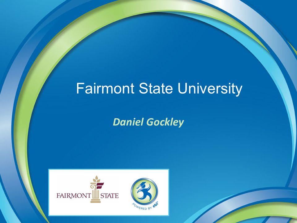 Fairmont State University Daniel Gockley