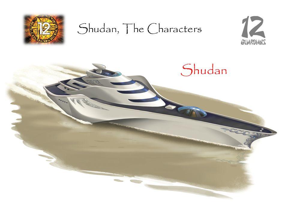 Shudan Shudan, The Characters