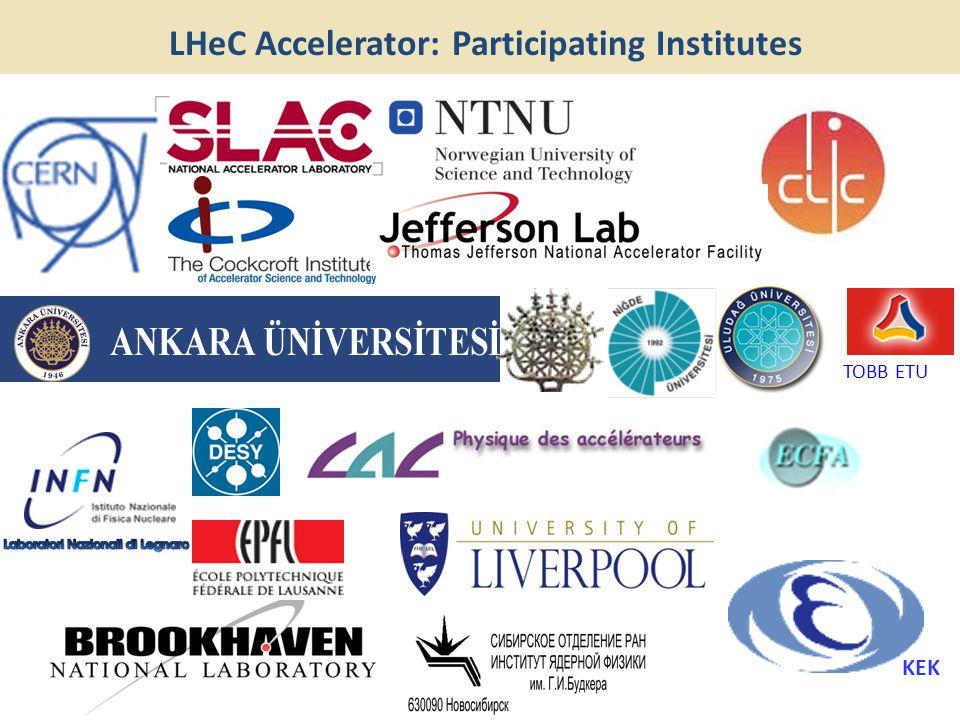 TOBB ETU KEK LHeC Accelerator: Participating Institutes