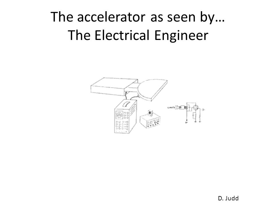 The accelerator as seen by… The Electrical Engineer D. Judd