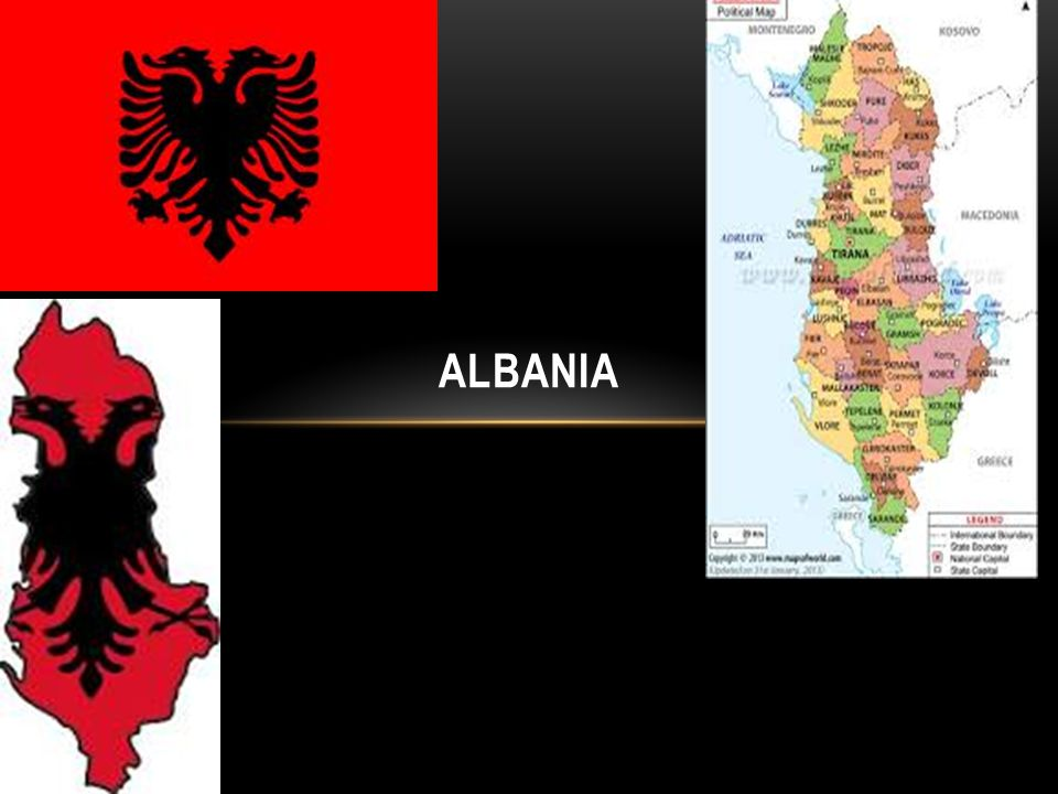 ECONOMY AND EXPORT AND IMPORT PARTNERS Albanians have a GDP Per Capita of $8,000 The GDP is $12.39 billion The inflation rate is 2% Their budget surplus + or deflect – is – 3.3% Their unemployment rate is 13% Import.