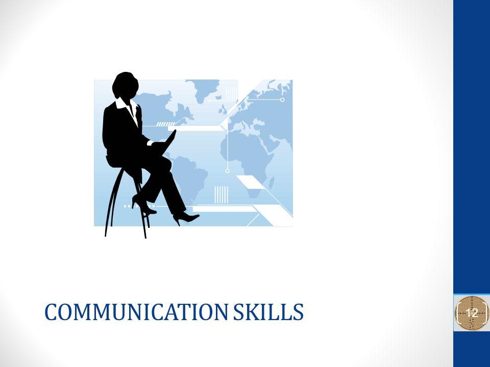 COMMUNICATION SKILLS 12