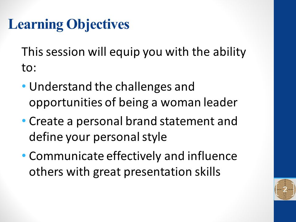Personalize Your Brand and Communication Skills: Advancing your Career as a Women Leader Sara M.