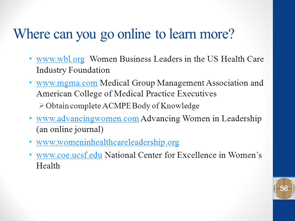 Where can you go online to learn more.