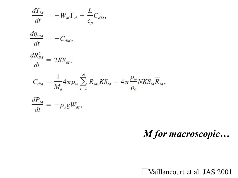 Vaillancourt et al. JAS 2001 M for macroscopic…
