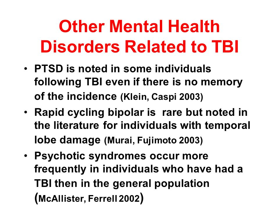 Obsessive-Compulsive Traits after TBI: Pre- Existing Conditions or Adaptation to Cognitive Deficits & Other Changes? Dr. Paul McClelland Compulsive be
