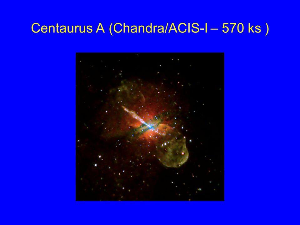 Centaurus A (Chandra/ACIS-I – 570 ks )