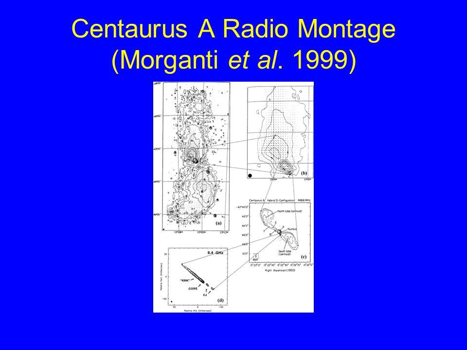 Centaurus A Radio Montage (Morganti et al. 1999)