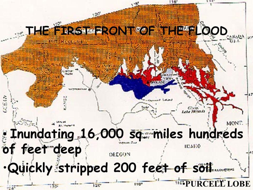 Inundating 16,000 sq.