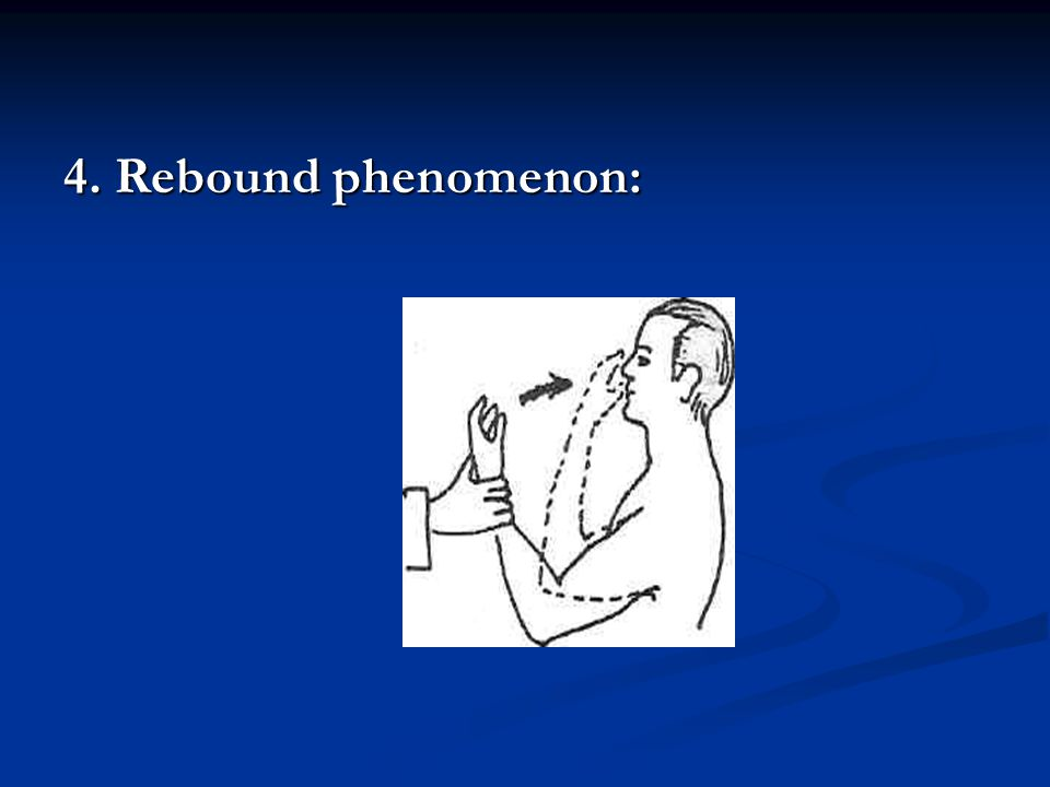 4. Rebound phenomenon: