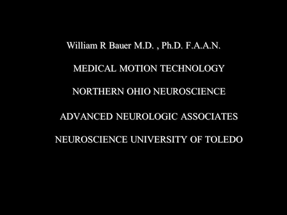 William R Bauer M.D., Ph.D. F.A.A.N.