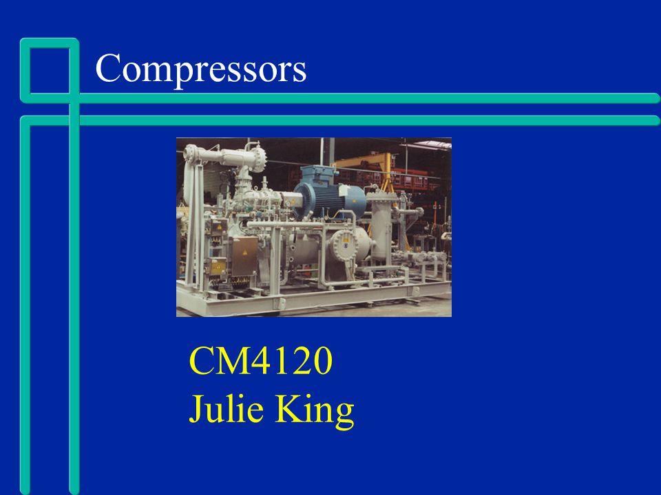 Compressors CM4120 Julie King