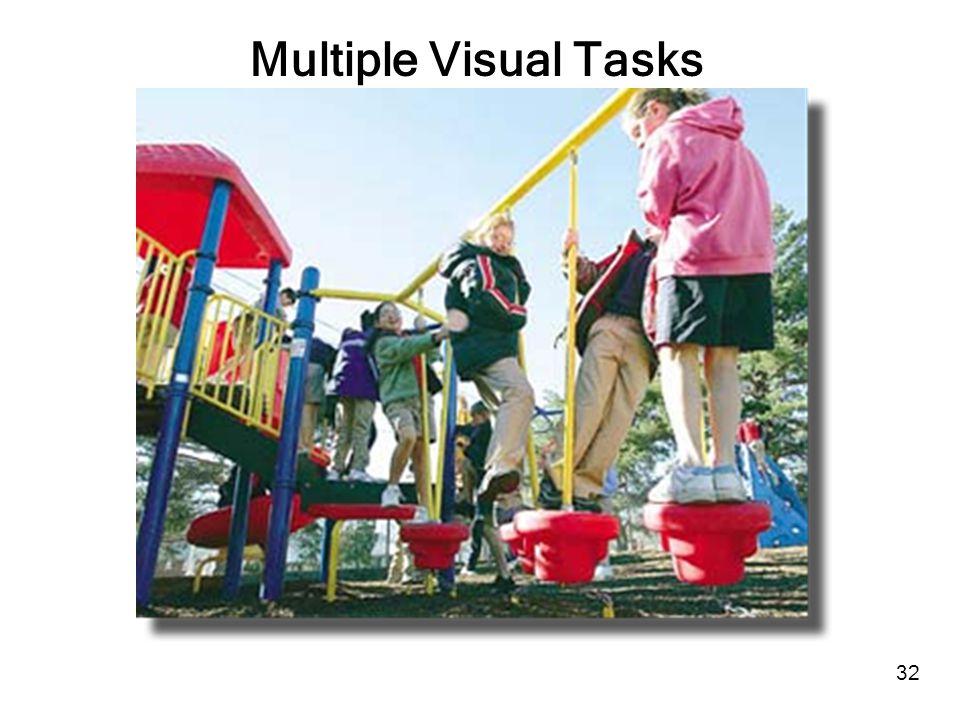 32 Multiple Visual Tasks