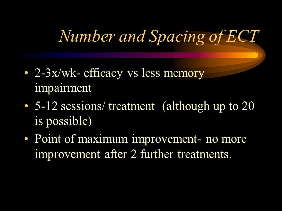 Treatments Premedicate w/ Glycopyrrolate, consider short acting Beta blocker Patient not intubated Bite block Cuff leg to monitor sz EEG and EMG Lengt