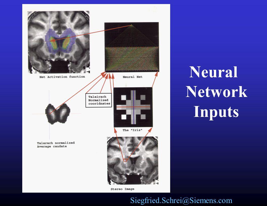 Siegfried.Schrei@Siemens.com Artifical Neural Networks