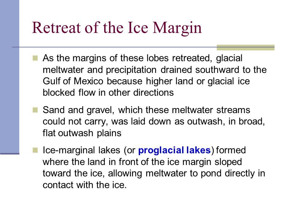 Proglacial Lake Formation