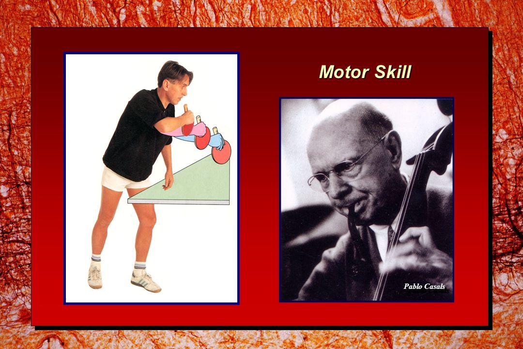 Motor Skill Pablo Casals