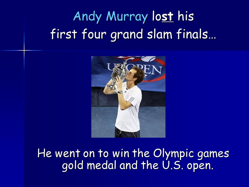 He went on to win the Olympic games gold medal and the U.S.