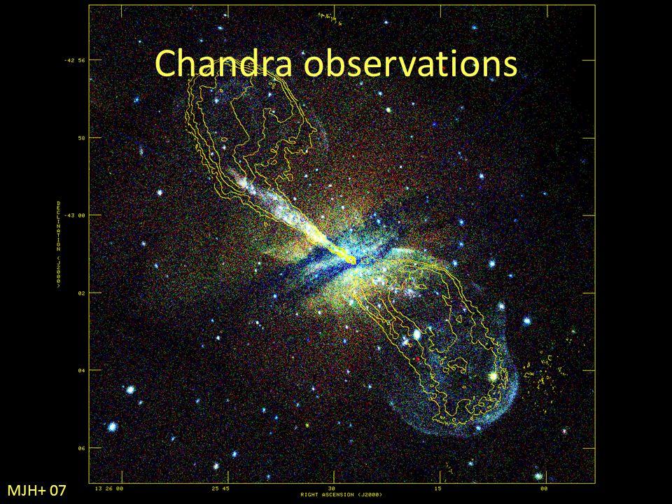Chandra observations MJH+ 07