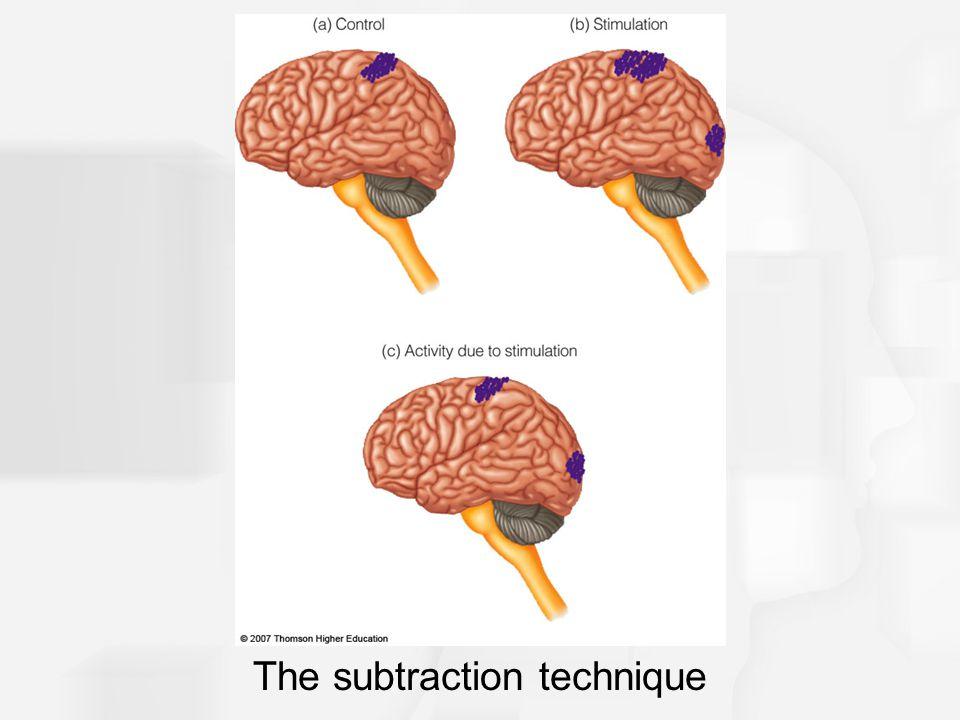 The subtraction technique