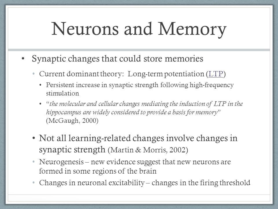 Dissociations Good Neuropsychology studies look for dissociations: Brain Area 1 Brain Area 2 Task 1 Task 2 Activation No Activation Often found across patients Example: H.M.