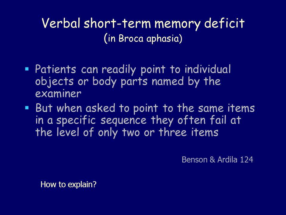 Noun-Verb vis-à-vis Speech & Writing (908b)  Patient S.J.D.