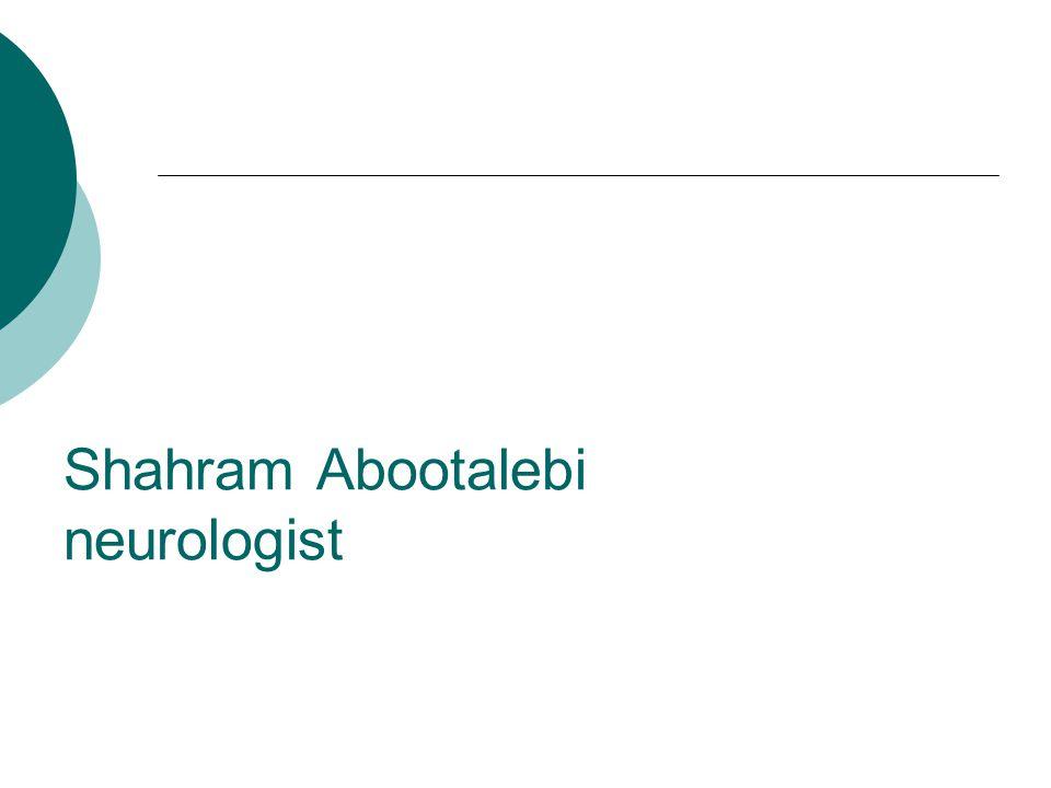 Shahram Abootalebi neurologist