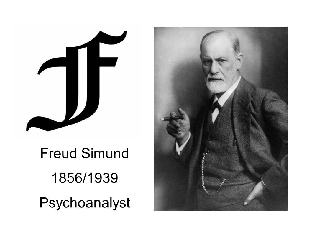 Freud Simund 1856/1939 Psychoanalyst