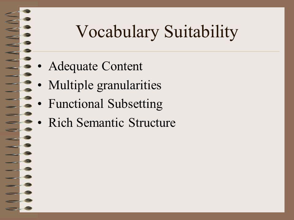 Meta-semantics The built-in semantic structure of the nomenclature system itself.