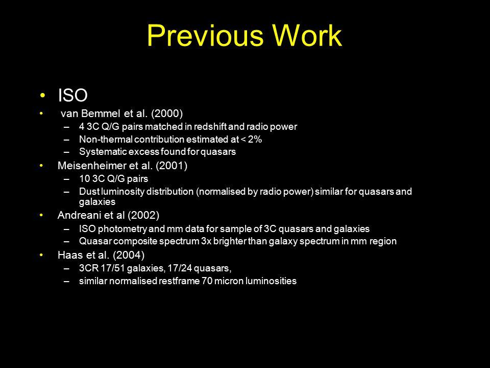 Previous Work ISO van Bemmel et al.