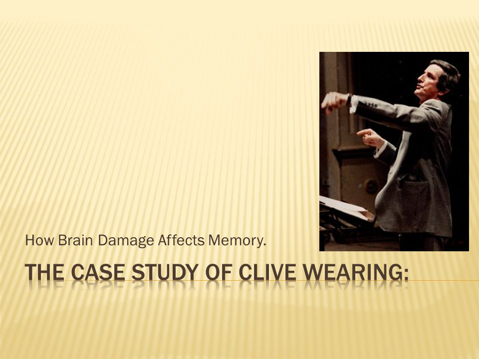 How Brain Damage Affects Memory.