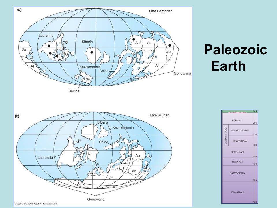 Paleozoic Earth