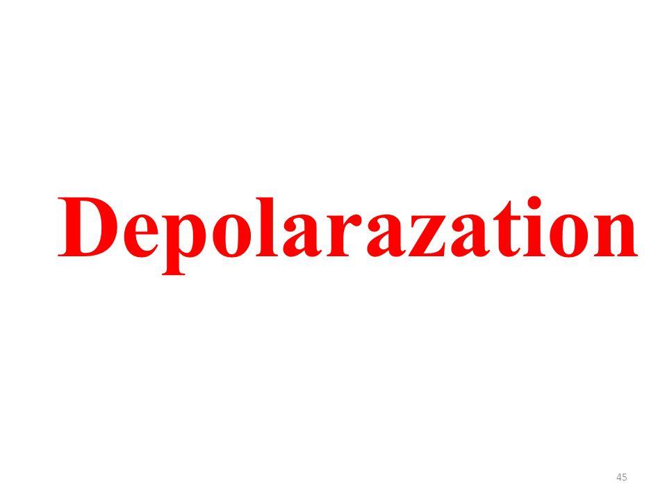 45 Depolarazation