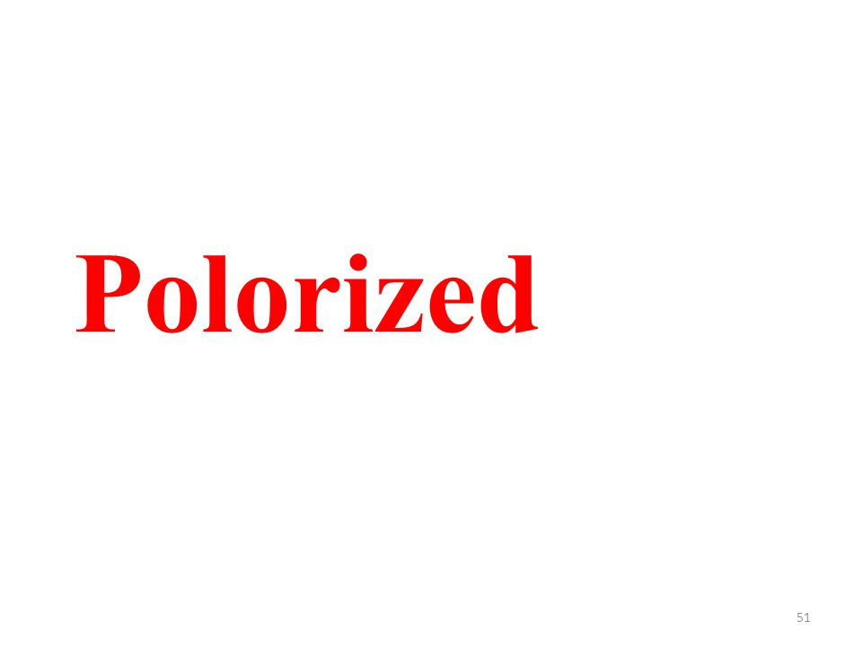 51 Polorized
