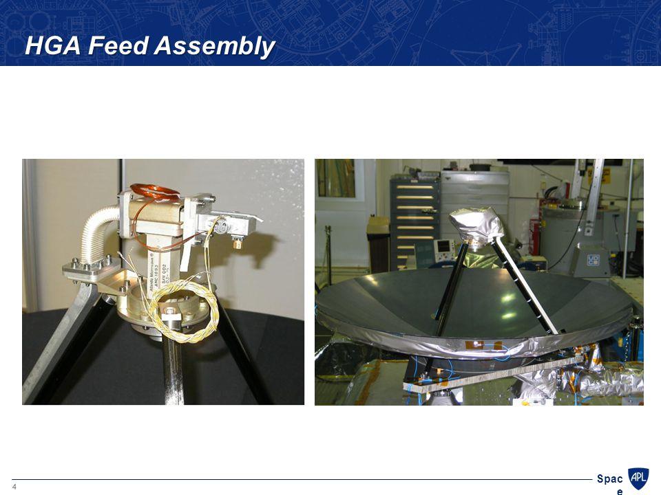 4 Spac e HGA Feed Assembly