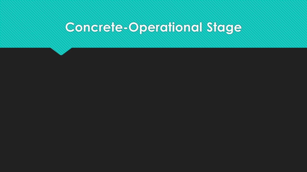 Concrete-Operational Stage