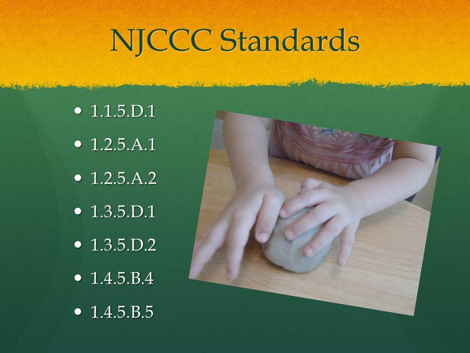 NJCCC Standards 1.1.5.D.1 1.1.5.D.1 1.2.5.A.1 1.2.5.A.1 1.2.5.A.2 1.2.5.A.2 1.3.5.D.1 1.3.5.D.1 1.3.5.D.2 1.3.5.D.2 1.4.5.B.4 1.4.5.B.4 1.4.5.B.5 1.4.