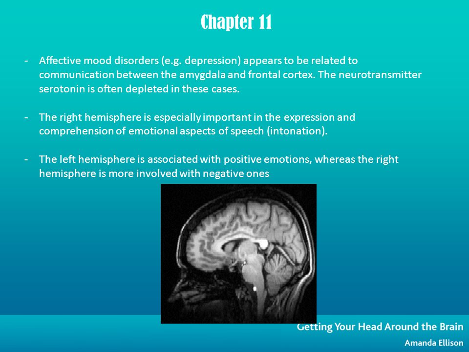 -Affective mood disorders (e.g.