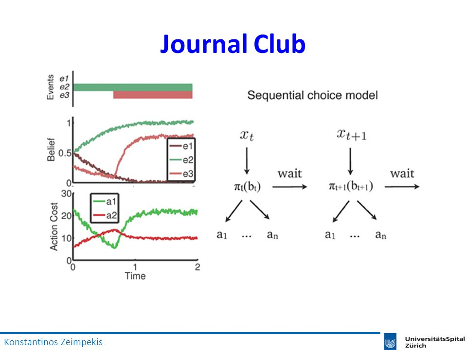 Journal Club Konstantinos Zeimpekis